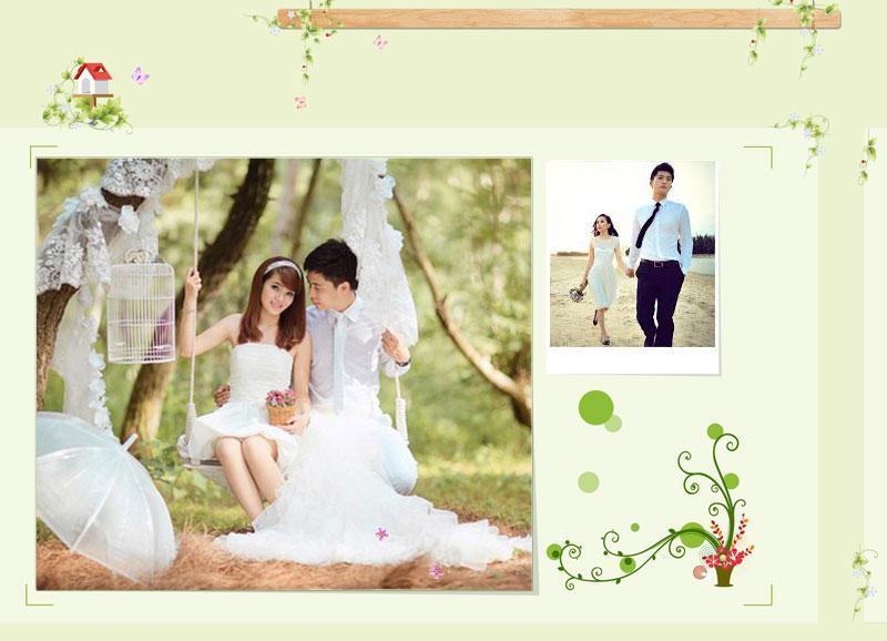 khung hình ảnh cưới đẹp mắt