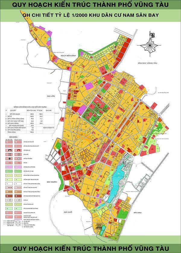 bản đồ thành phố vũng tàu