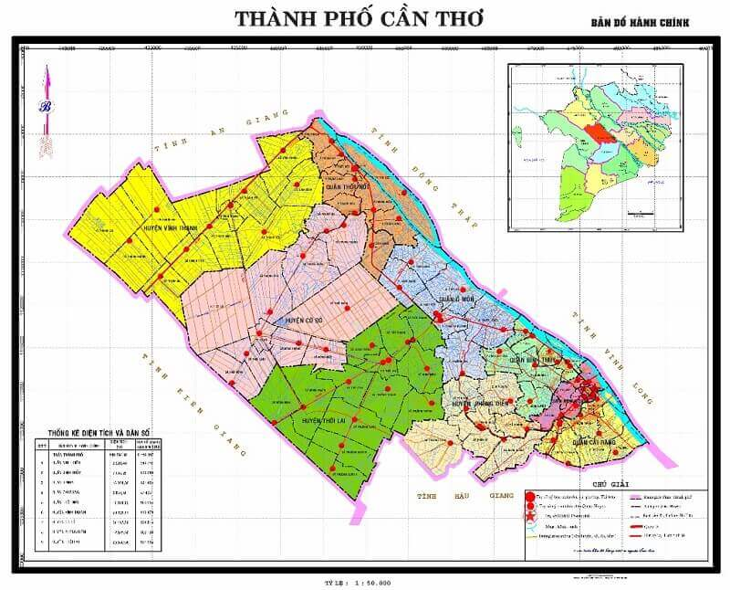 ban do hanh chinh thanh pho can tho
